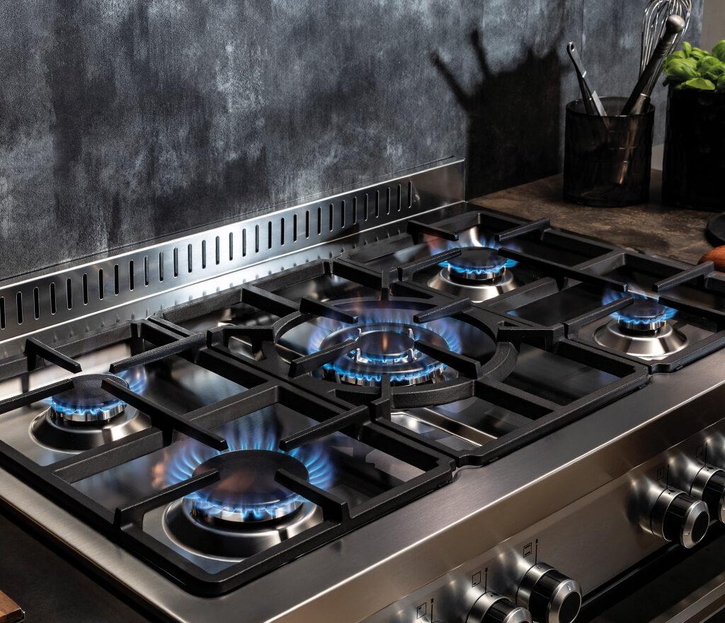 Cuisinière induction électrique gaz pas cher & gaziniere piano cuisson